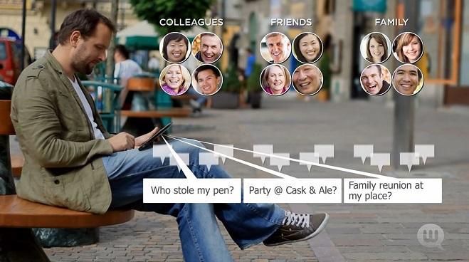 Webtalk – Nouveau Réseau SocialLucratif